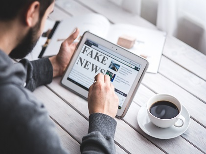 fake-news-tablet-device