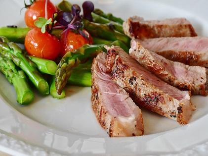 healthy meal food